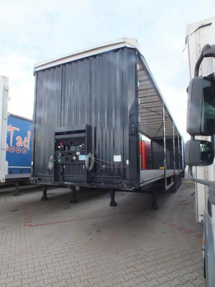 KAESSBOHRER MAXIMA Curtain trailer
