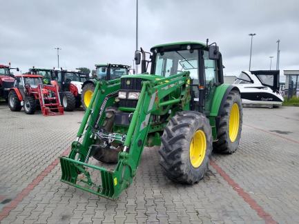 John Deere 6430 tractor + KNOCH I front loader